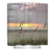 Sea Oats - Boca Grande Shower Curtain