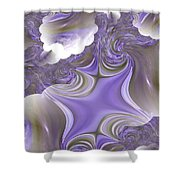 Sea Of Lavender Shower Curtain