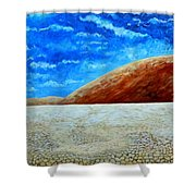 Sea Of Sand Shower Curtain