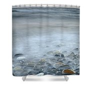 Sea Stones Shower Curtain