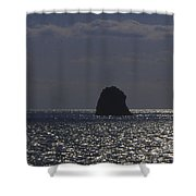 Sea Watchers Shower Curtain