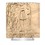 Sea Woman 2 Shower Curtain