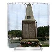 Seafarer's Memorial Shower Curtain