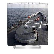 Seamen On The Forecastle Shower Curtain