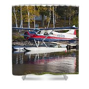 Seaplane On Moosehead Lake In Maine Canvas Photo Poster Print Shower Curtain