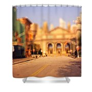 Seaport Tiltshift Shower Curtain