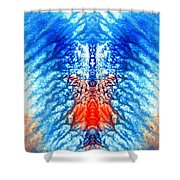 Seas And Shores Shower Curtain