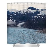 Seas Of Ice Shower Curtain by Mike Reid