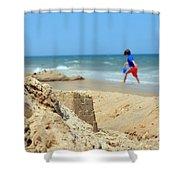 Seascape 101 Shower Curtain