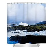 Seascape, West Cork, Ireland Shower Curtain