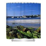 Seashore, Portnablagh, County Donegal Shower Curtain