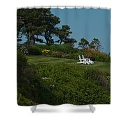 Seaside View Shower Curtain