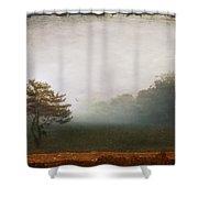 Season Of Mists Shower Curtain