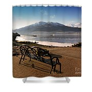 Seat With A View Shower Curtain