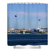 Seattle - American City Shower Curtain
