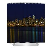 Seattle Moody Blues Shower Curtain
