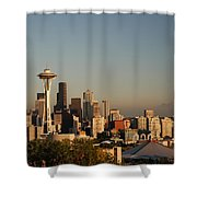 Seattle Sunset Shower Curtain