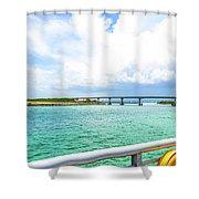 Sebastian Inlet Shower Curtain