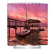 Sebring Sailing Shower Curtain