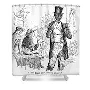 Secession Crisis, 1861 Shower Curtain