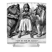 Second Afghan War 1878 Shower Curtain