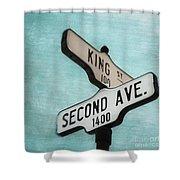 second Avenue 1400 Shower Curtain