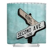 second Avenue 1400 Shower Curtain