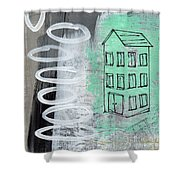 Secret Cottage Shower Curtain