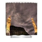 Secret Grounds Shower Curtain by Jakub Sisak