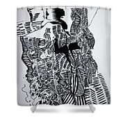 Secret Kiss Shower Curtain