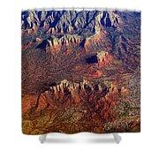 Sedona Arizona Planet Earth Shower Curtain