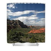 Sedona Arizona Vista Shower Curtain