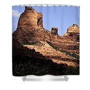 Sedona Arizona - Greeting Card Shower Curtain