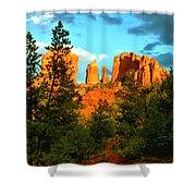 Sedona Sunset Shower Curtain