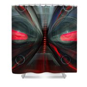 See The Music Shower Curtain