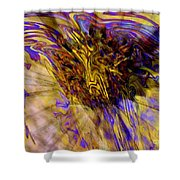 Seize The Day - Abstract Art Shower Curtain