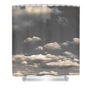 Selenium Clouds Shower Curtain