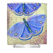 Self Expression Butterfly Shower Curtain