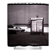 Self Service- Winnsboro Road- La Hwy 15 Shower Curtain