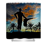 Senor Pepe Luis Vazquez Shower Curtain