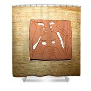 Sentiment 1 - Tile Shower Curtain