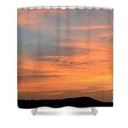 September 27 2012 Sunrise Shower Curtain