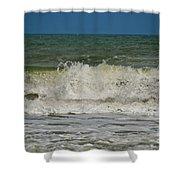 September Beach 2 Shower Curtain