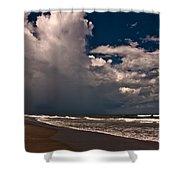 September Beach Shower Curtain