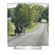 September Roads Shower Curtain