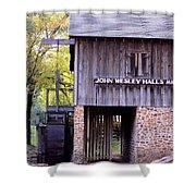 September's Grist Mill Shower Curtain