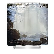 Sequoia Nat Pk Waterfalls Shower Curtain