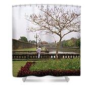 Serene Hue Shower Curtain