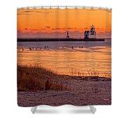 Serenity Beach Shower Curtain