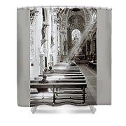 Zen Of Prayer Shower Curtain